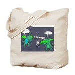 Astronaut Tetherball Tote Bag