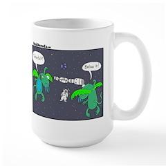 Astronaut Tetherball Mug