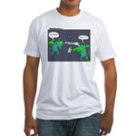 Astronaut Tetherball Fitted T-Shirt