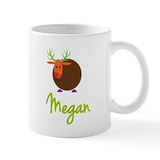 Megan the Reindeer Small Mugs