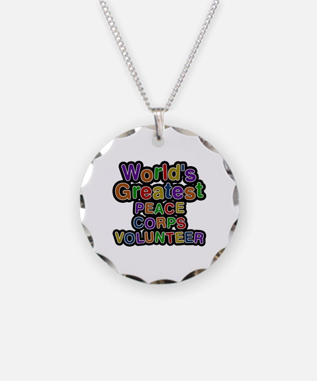 World's Greatest PEACE CORPS VOLUNTEER Necklace