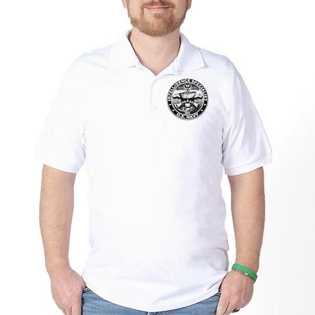 USN Intelligence Specialist S Golf Shirt