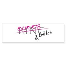 QueenoftheLab Bumper Bumper Sticker