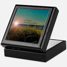 Twilight Breaking Dawn Grass Keepsake Box