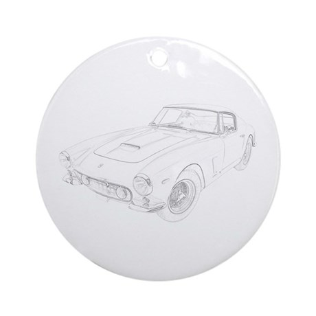 Ferrari 250 Lusso Ornament (Round)