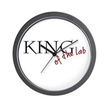 King lab Wall Clock