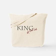 Unique Queen of the lab Tote Bag