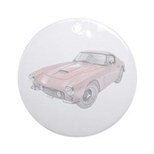 Ferrari 250 Lusso - red Ornament (Round)