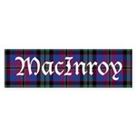 Tartan - MacInroy Sticker (Bumper)