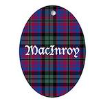 Tartan - MacInroy Ornament (Oval)