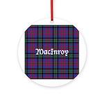 Tartan - MacInroy Ornament (Round)