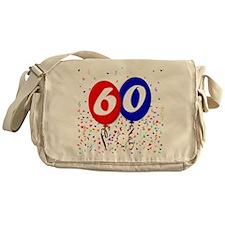 60th Birthday Messenger Bag