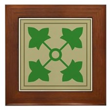 4th Infantry Framed Tile