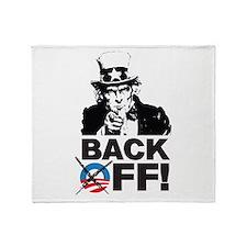 Anti Obama Throw Blanket