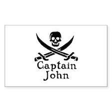 Captain John Decal