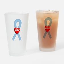 Lt. Blue Hope Drinking Glass