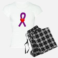 Purple Heart Ribbon pajamas