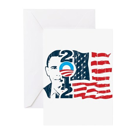 Barack Obama Greeting Cards (Pk of 20)