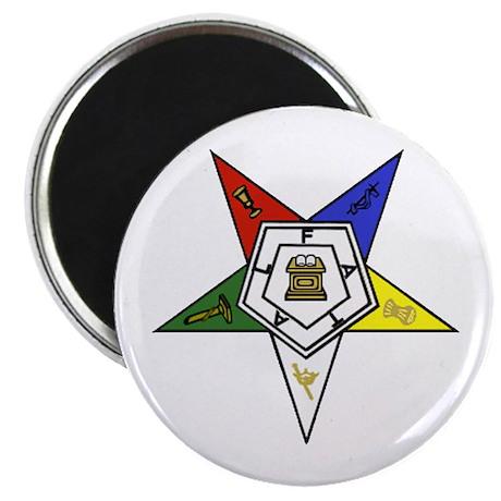 "O. E. S. Emblem 2.25"" Magnet (10 pack)"
