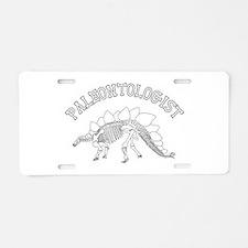 Paleontologist (Stegosaurus) Aluminum License Plat