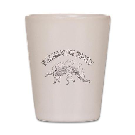 Paleontologist (Stegosaurus) Shot Glass