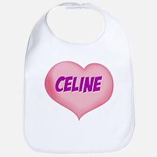 celine heart Bib