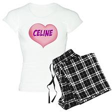 celine heart pajamas
