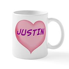 justin heart Mug
