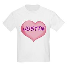 justin heart T-Shirt