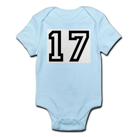 Number 17 Infant Creeper