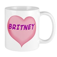 britney heart Mug