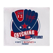 Mitt Romney Throw Blanket