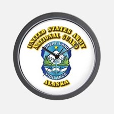 Army National Guard - Alaska Wall Clock