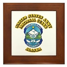 Army National Guard - Alaska Framed Tile