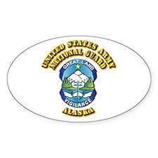 Army National Guard - Alaska Decal