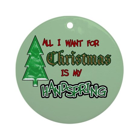All I Want...Giants Ornament (Round)