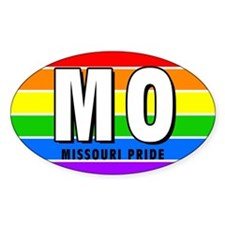 Missouri Pride Oval Decal