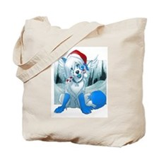 Funny Wolf puppy Tote Bag