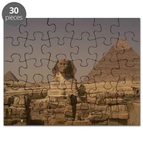 Sphinx and Pyramid Puzzle