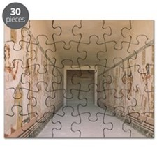 Egyptian Temple Walls Puzzle