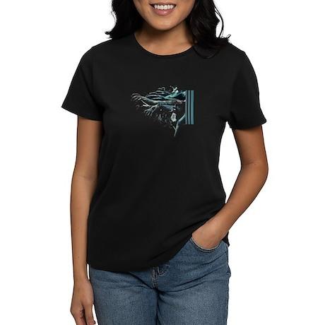 Zombie Stripes Women's Dark T-Shirt