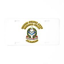 Army National Guard - Arkansas Aluminum License Pl