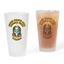 Army National Guard - Arkansas Drinking Glass