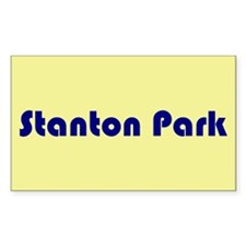 Stanton Park Rectangle Decal