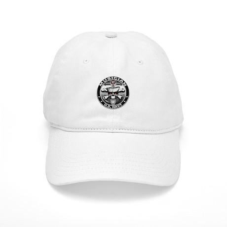 USN Musician Skull MU Cap