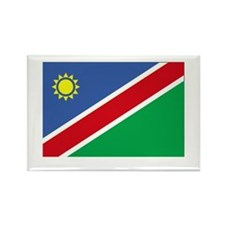 NAMIBIA - The Flag of Namibia Rectangle Magnet