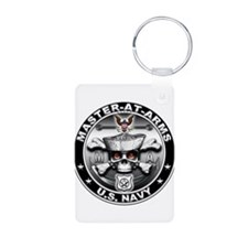 USN Master-At-Arms Skull MA Keychains