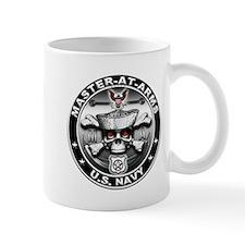 USN Master-At-Arms Skull MA Mug