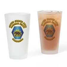 Army National Guard - California Drinking Glass