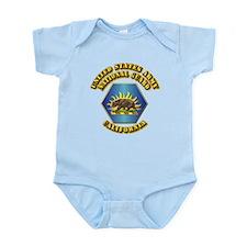 Army National Guard - California Infant Bodysuit